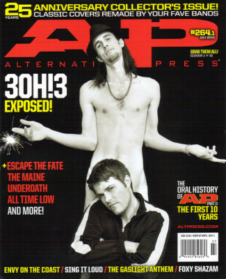 Alternative Press Magazine, 25th Anniversary Cover